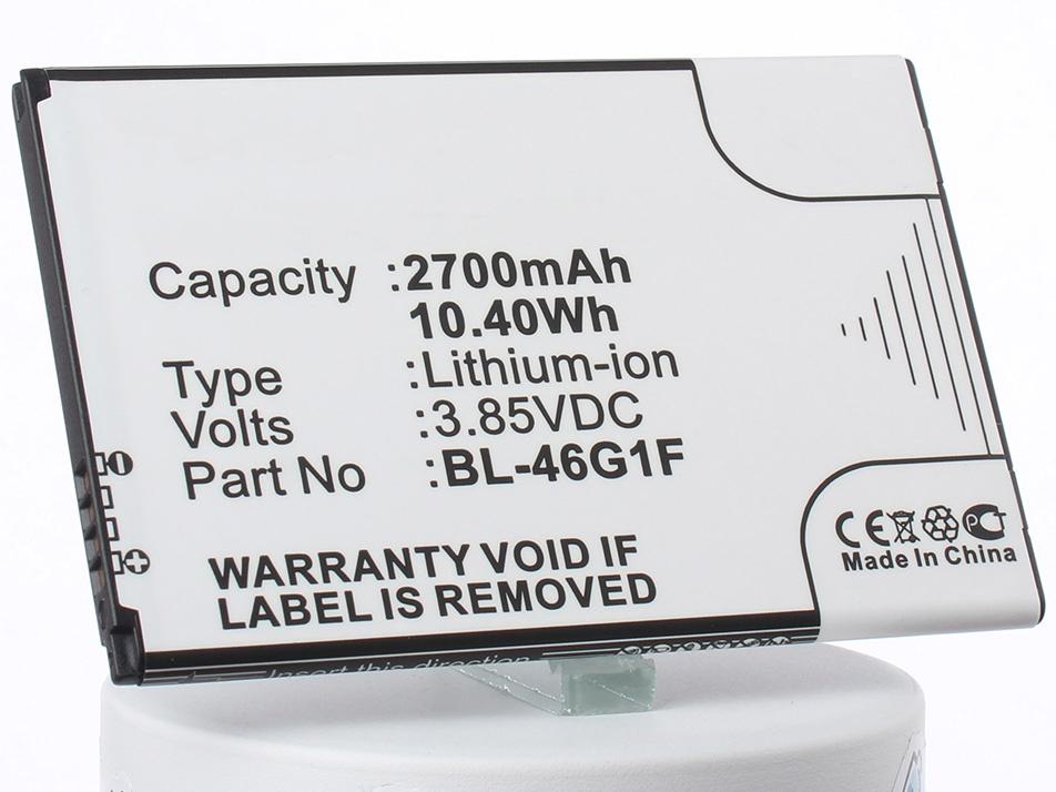 Аккумулятор для телефона iBatt iB-BL-46G1F-M2156 аккумулятор для телефона ibatt ib bl 4u m1560