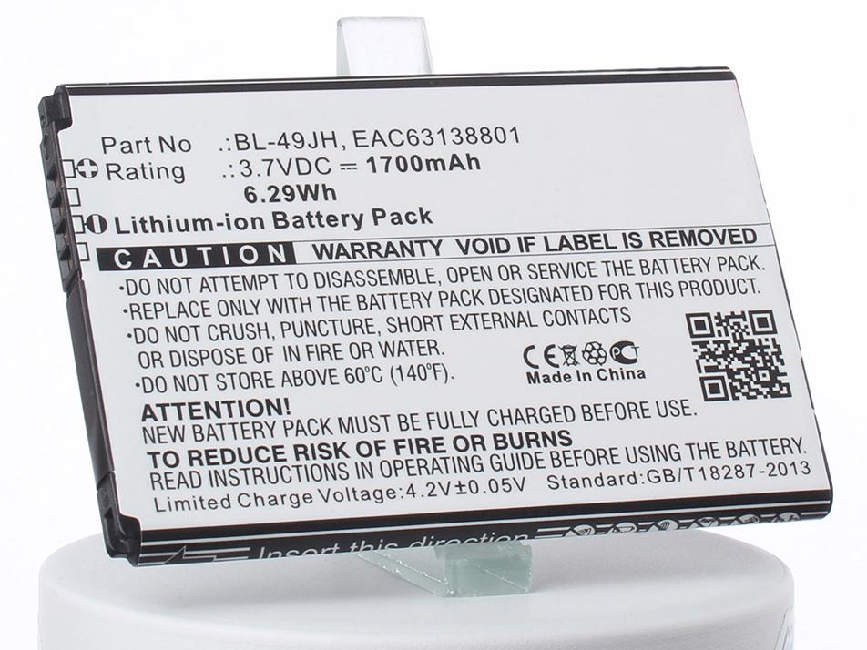 Аккумулятор для телефона iBatt iB-BL-49JH-M2159 аккумулятор для телефона ibatt ib bl 53yh m719