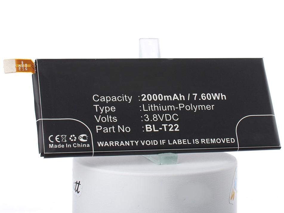 Аккумулятор для телефона iBatt iB-BL-T22-M2164 аккумулятор для телефона craftmann bl 53yh для lg d855 g3 с увеличенной ёмкостью до 5900 mah и крышкой чёрного цвета