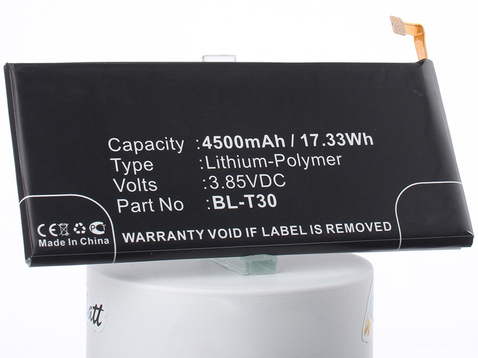 Аккумулятор для телефона iBatt iB-BL-T30-M2167 аккумулятор для телефона craftmann bl 53yh для lg d855 g3 с увеличенной ёмкостью до 5900 mah и крышкой чёрного цвета