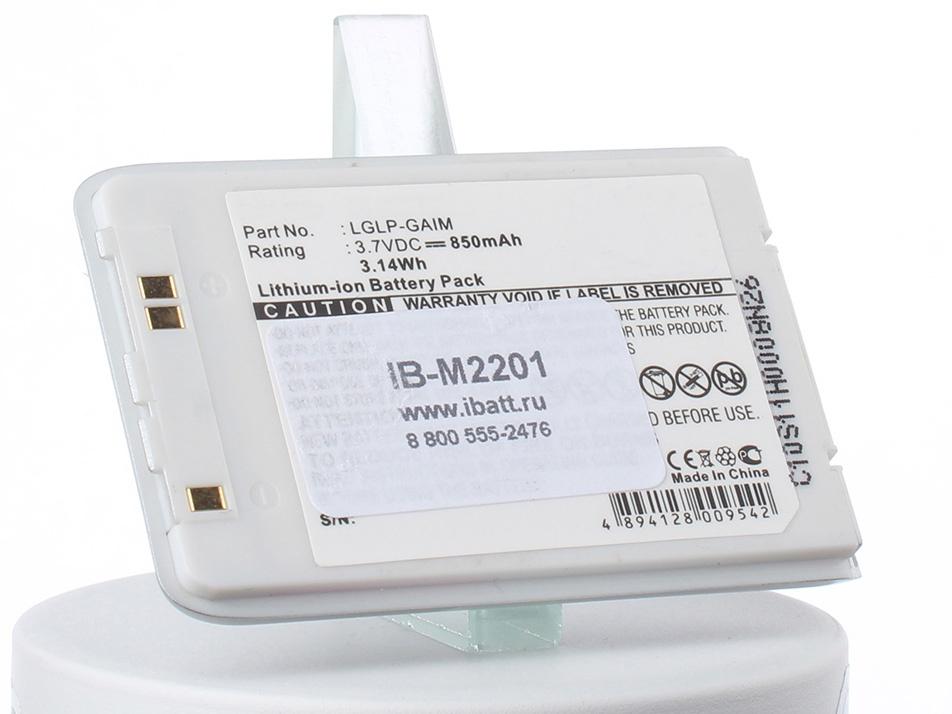 Аккумулятор для телефона iBatt iB-LGLP-GAIM-M2201 аккумулятор для телефона ibatt ib lglp gaim m2201