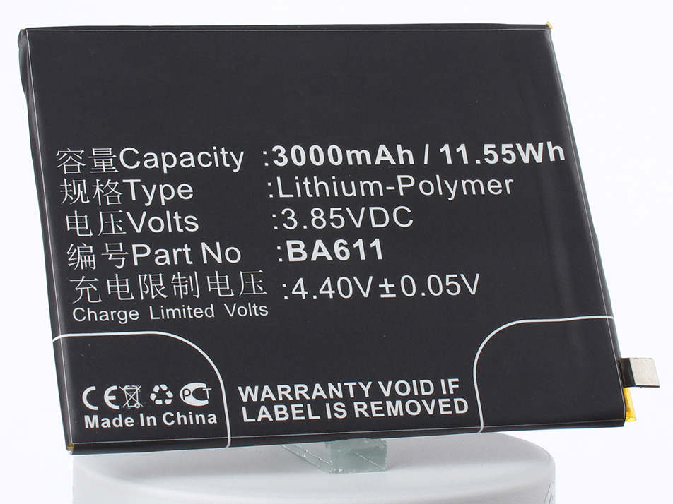 Аккумулятор для телефона iBatt iB-BA611-M2236 аккумулятор для телефона ibatt ba611 для meizu m611 m5 dual sim m5