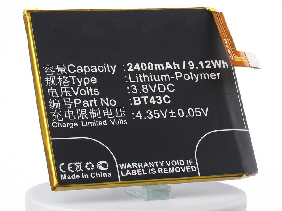 Аккумулятор для телефона iBatt iB-BT43C-M2246 аккумулятор для телефона ibatt ib lis1502erpc m501