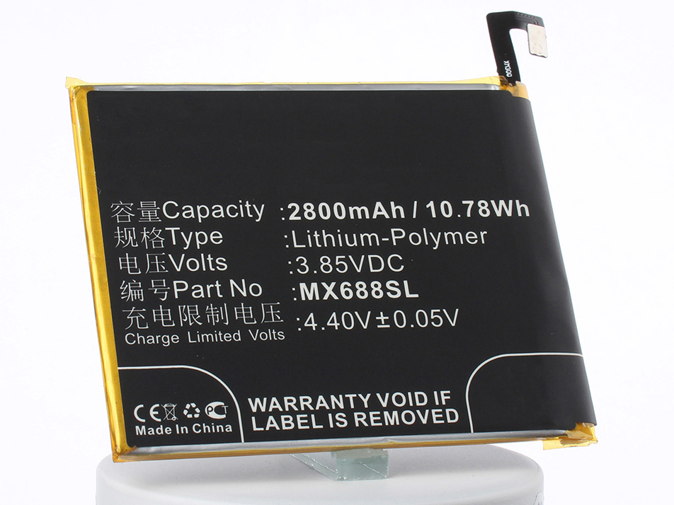 Аккумулятор для телефона iBatt iB-BT68-M2257 аккумулятор для телефона ibatt bt66 для meizu m686 m686c m686g