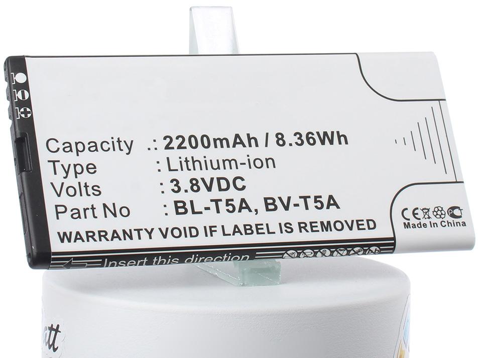 Аккумулятор для телефона iBatt iB-BL-T5A-M2265 аккумулятор для телефона ibatt ib bv 5s m880