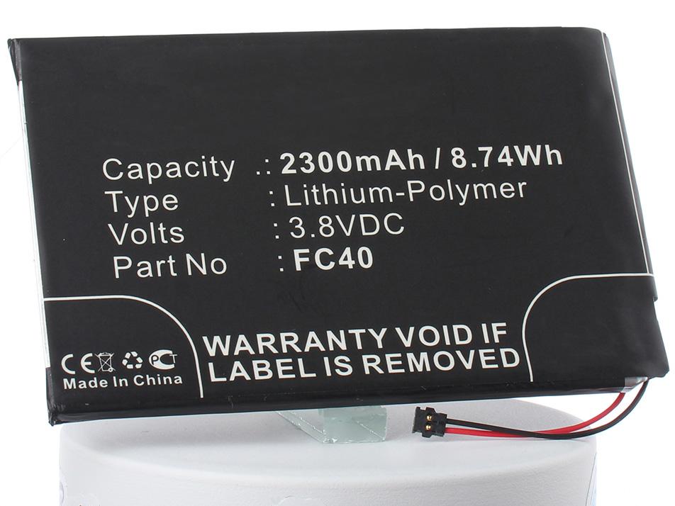 Аккумулятор для телефона iBatt iB-FC40-M2302 цена