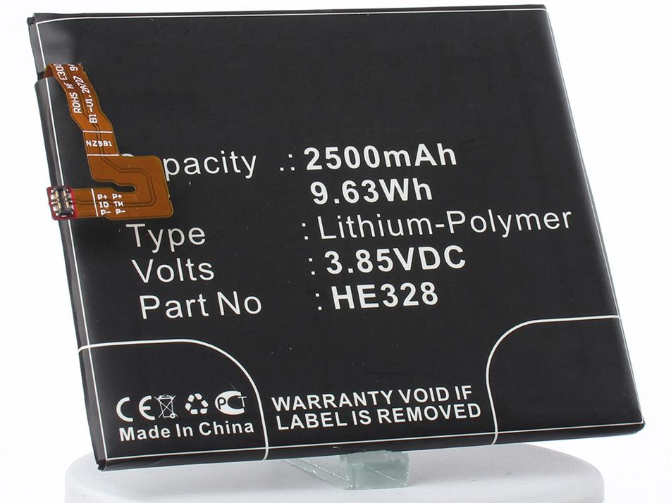 Аккумулятор для телефона iBatt iB-HE328-M2377 аккумулятор для телефона ibatt ib nokia x2 dual sim m880