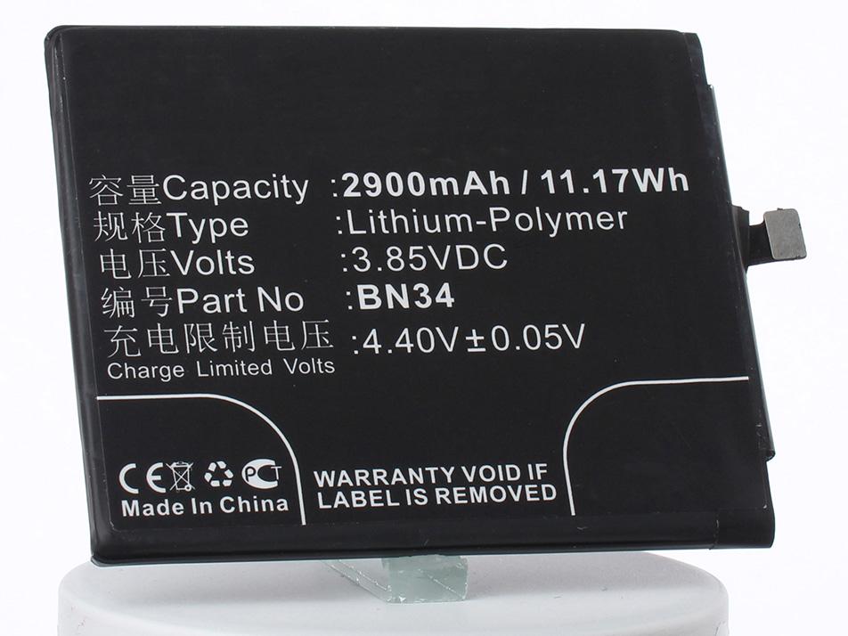 Аккумулятор для телефона iBatt iB-BN34-M2592 аккумулятор для телефона ibatt ib bl3815 m1760