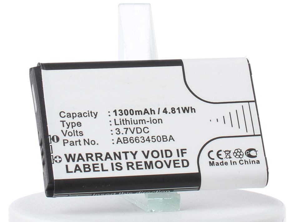 Аккумулятор для телефона iBatt iB-AB663450BA-M2652 аккумулятор для телефона ibatt ib ab663450ba m2652