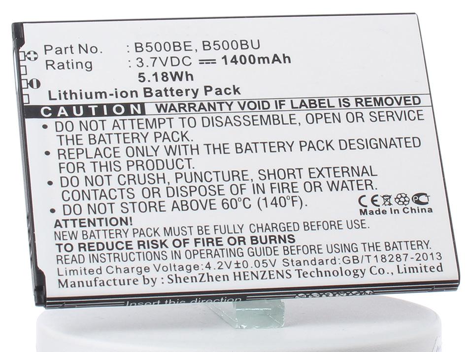 Аккумулятор для телефона iBatt iB-EB-B500BE-M2658 аккумулятор для телефона ibatt ib samsung galaxy s4 m533