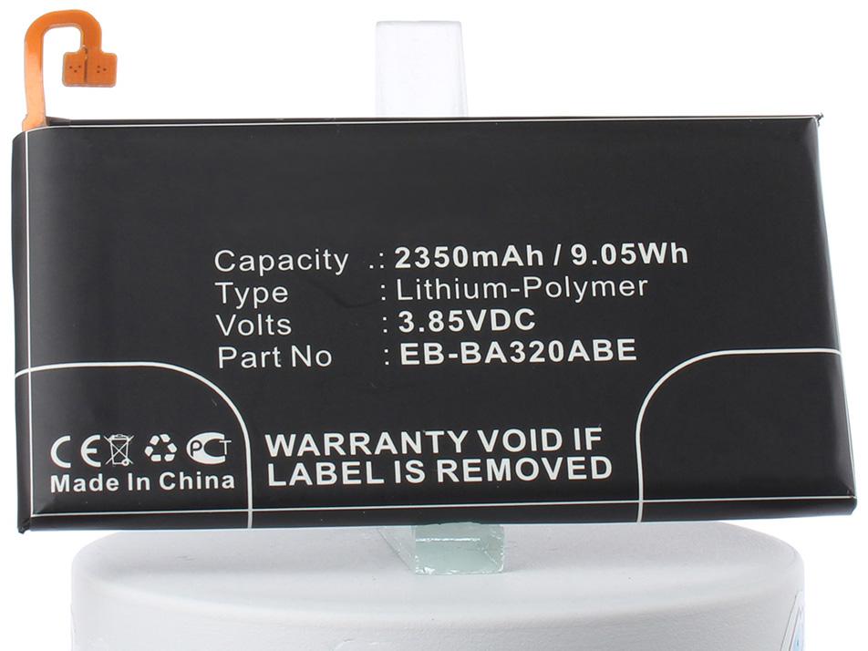 Аккумулятор для телефона iBatt iB-EB-BA320ABE-M2701 внешний аккумулятор samsung eb pn930csrgru 10200mah серый