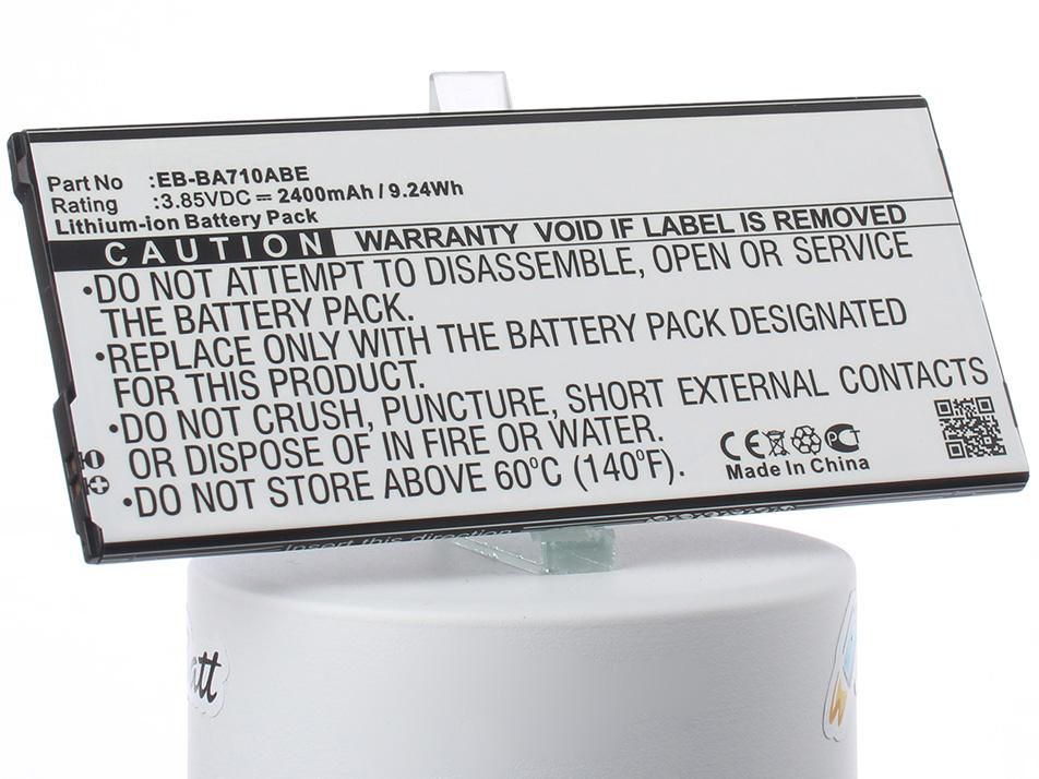 Аккумулятор для телефона iBatt iB-EB-BA710ABE-M2703 аккумулятор для телефона ibatt ib eb bc700abe m2711