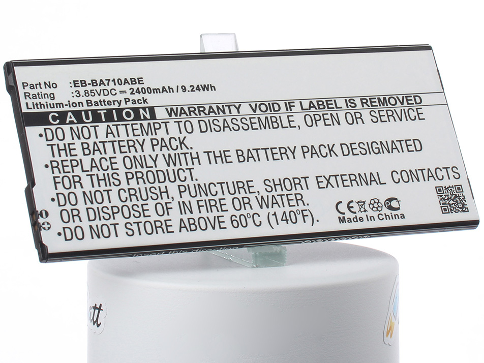 Аккумулятор для телефона iBatt iB-EB-BA710ABE-M2703 внешний аккумулятор samsung eb pn930csrgru 10200mah серый