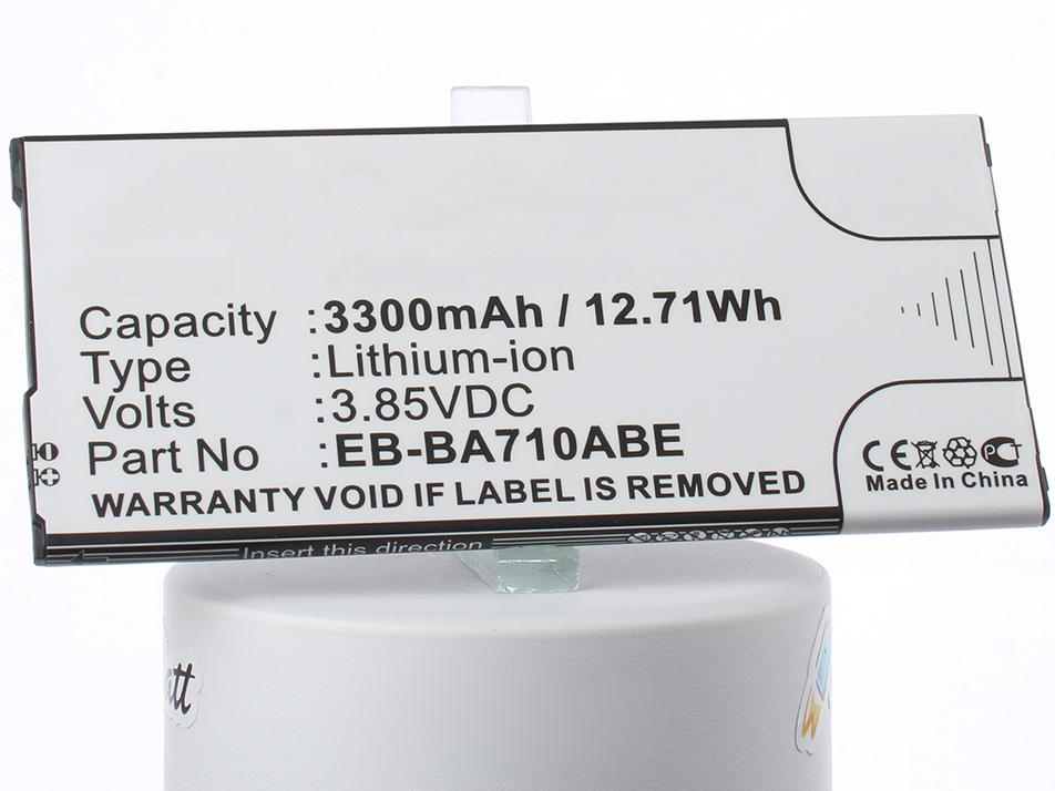 Аккумулятор для телефона iBatt iB-EB-BA710ABE-M2704 внешний аккумулятор samsung eb pn930csrgru 10200mah серый