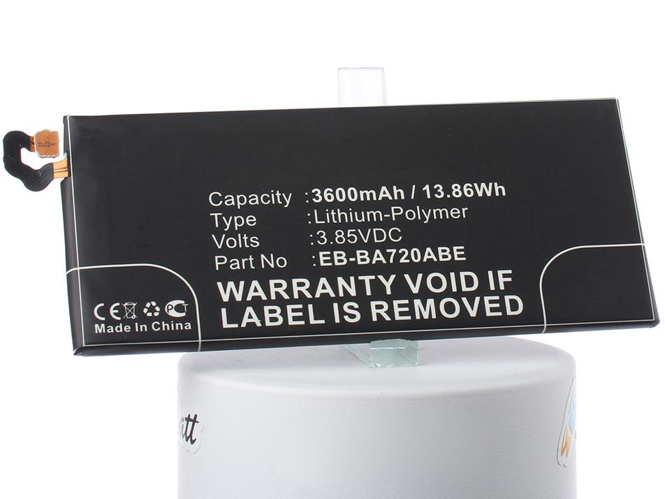 Аккумулятор для телефона iBatt iB-EB-BA720ABE-M2705 аккумулятор для телефона ibatt ib eb bc700abe m2711