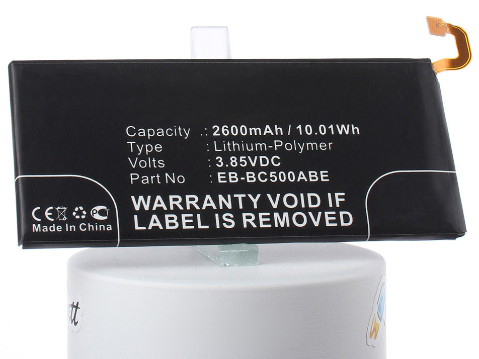 Аккумулятор для телефона iBatt iB-EB-BC500ABE-M2710 зажимы chilli pro clamp c5 hic black