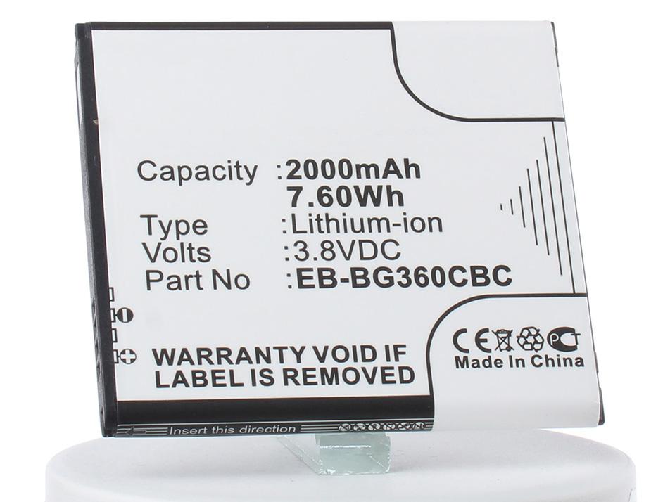 Аккумулятор для телефона iBatt iB-EB-BG360CBE-M2715 аккумулятор для телефона ibatt ib eb bc700abe m2711