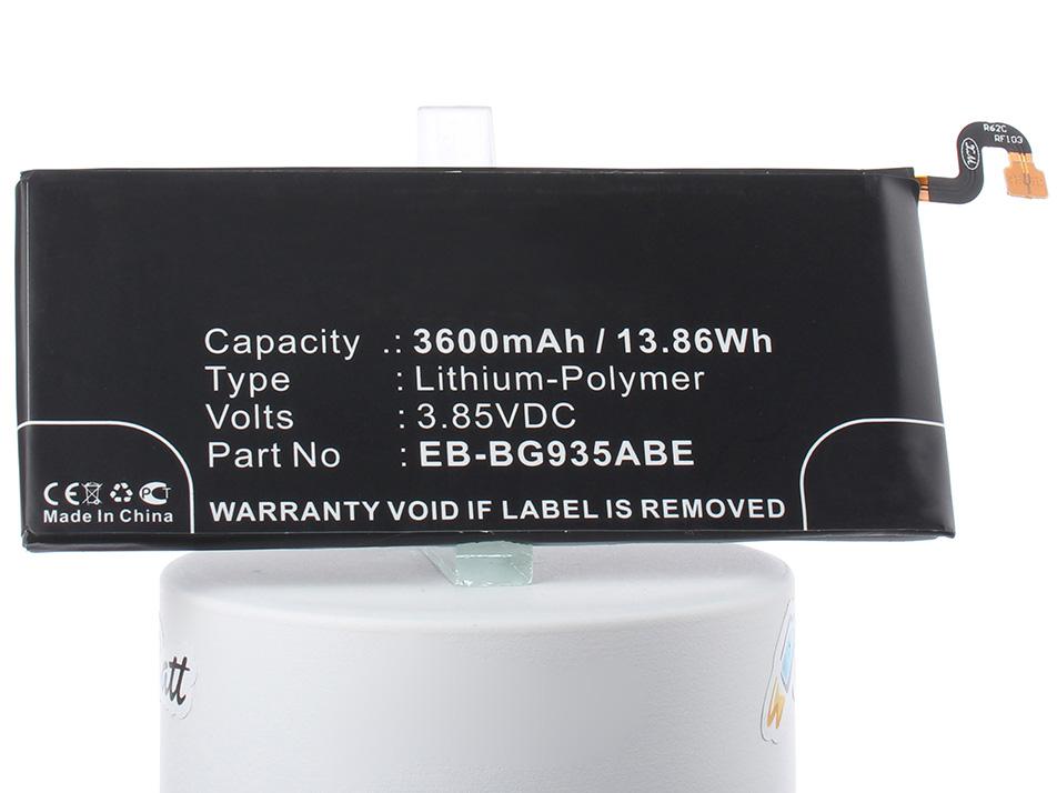 Аккумулятор для телефона iBatt iB-EB-BG935ABE-M2725 аккумулятор для телефона craftmann eb bg935aba для samsung galaxy s7 edge sm g935f