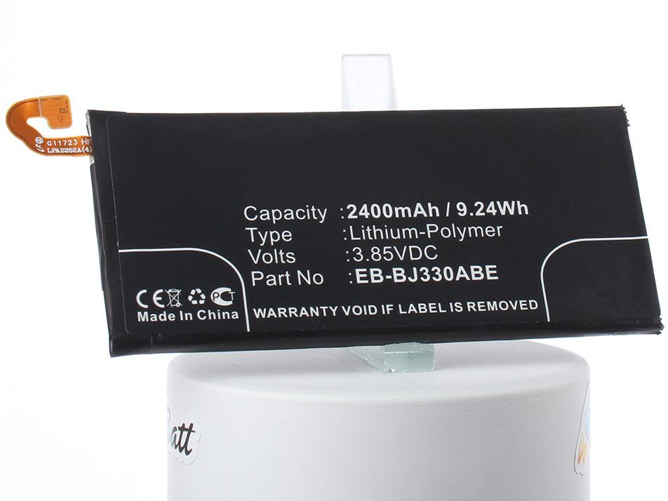 Аккумулятор для телефона iBatt iB-EB-BJ330ABE-M2732 внешний аккумулятор samsung eb pn930csrgru 10200mah серый