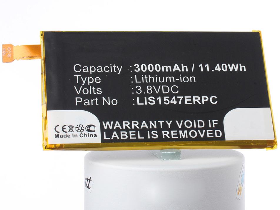 Аккумулятор для телефона iBatt iB-LIS1547ERPC-M2880 аккумулятор для телефона ibatt ib sony ericsson d6563 m2880