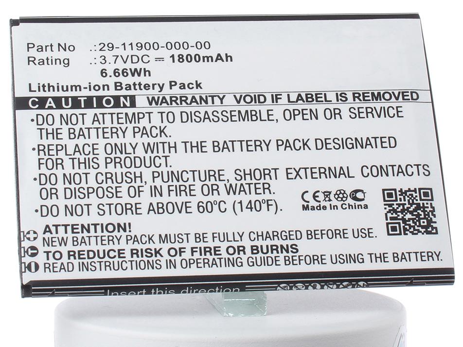 Аккумулятор для телефона iBatt iB-29-11900-000-00-M2922