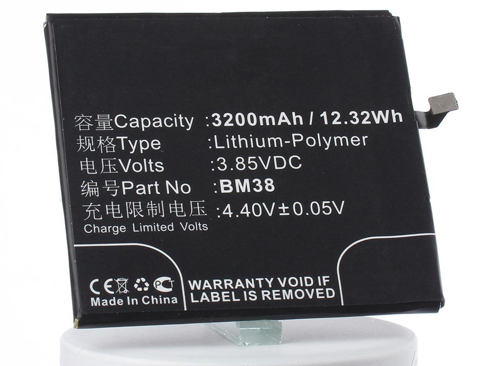 Аккумулятор для телефона iBatt iB-BM38-M2984