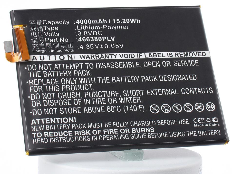 Аккумулятор для телефона iBatt iB-466380PLV-M3012 аккумулятор для телефона ibatt ib lis1502erpc m501