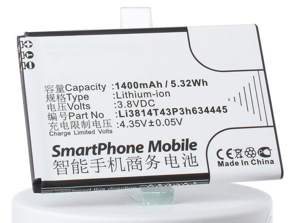 цена на Аккумулятор для телефона iBatt iB-Li3814T43P3h634445-M3050