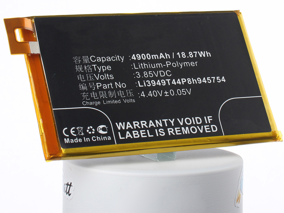 Аккумулятор для телефона iBatt iB-Li3949T44P8h945754-M3092 аккумулятор для телефона ibatt hc60 для motorola moto c plus xt1723 moto c plus dual sim
