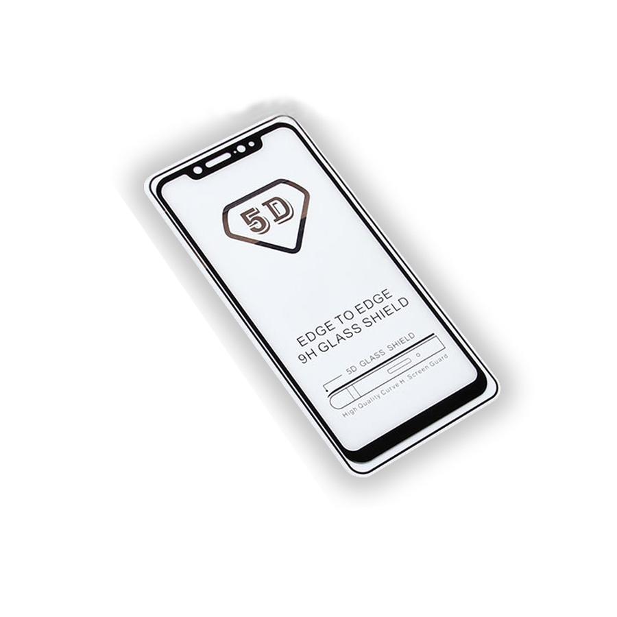 Защитное стекло Full Glue Xiaomi Mi8 на полный экран, черный защитное стекло для xiaomi mi8 se caseguru full glue изогнутое по форме дисплея с черной рамкой