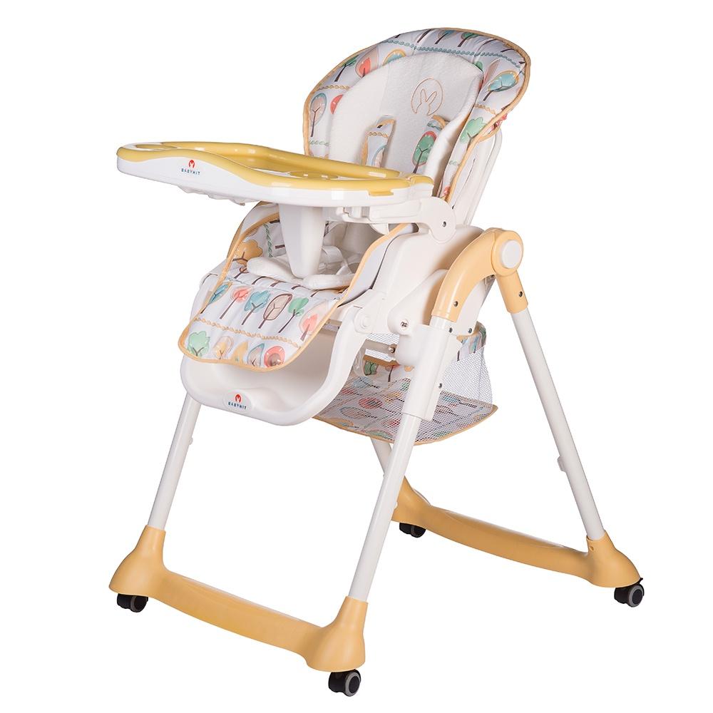 Стульчик для кормления Babyhit MIRACLE желтый babyhit babyhit стульчик для кормления miracle серый