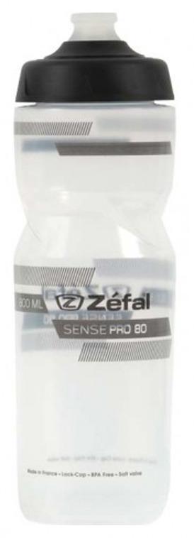 Фляга велосипедная Zefal Sense Pro 80, 1461, прозрачный, 800 мл