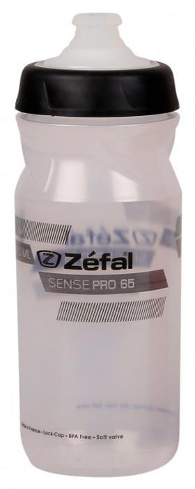 Фляга велосипедная Zefal Sense Pro 65, 1451, прозрачный, 650 мл фляга велосипедная zefal sense m65 цвет белый 650 мл 155a