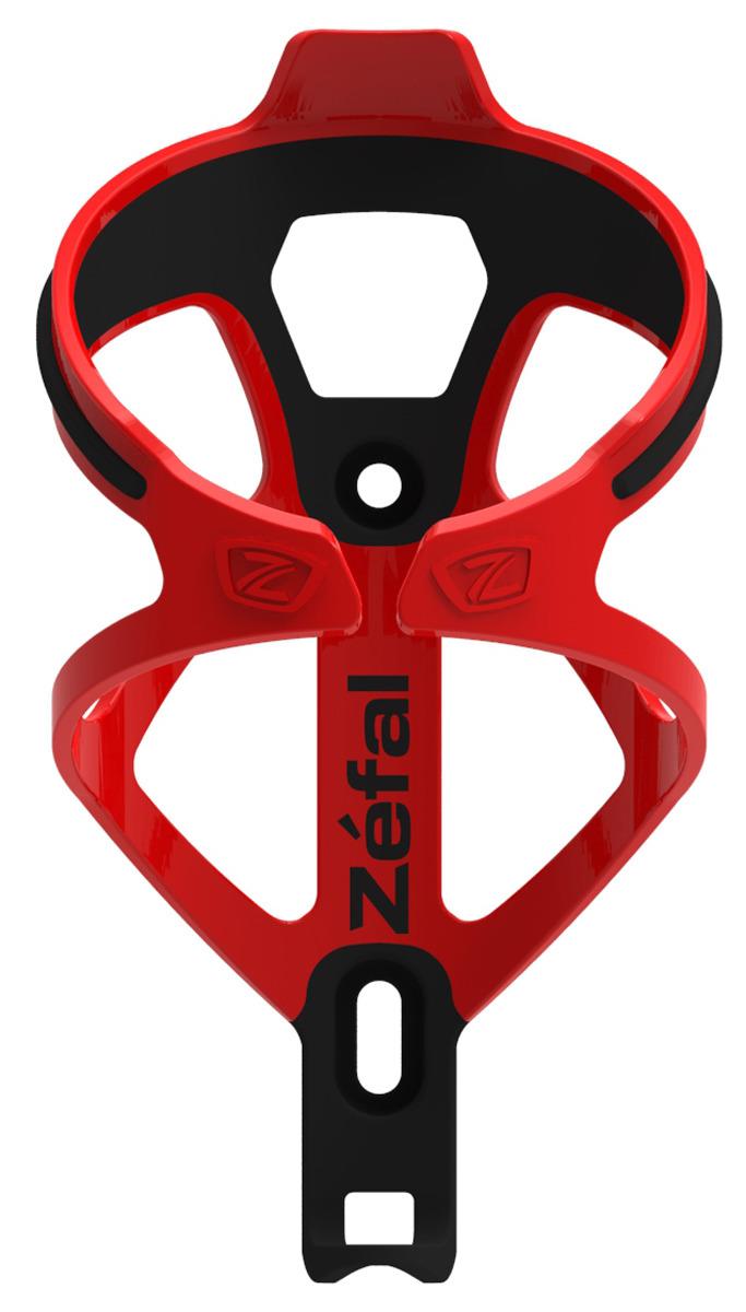 Флягодержатель Zefal Pulse B2, 1789, красный флягодержатель zefal pulse fiber glass цвет черный