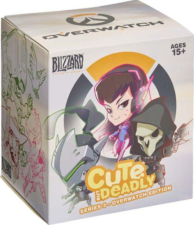 Фигурка Cute but Deadly Blind Vinyls Серия 3 Blizzard Entertainment
