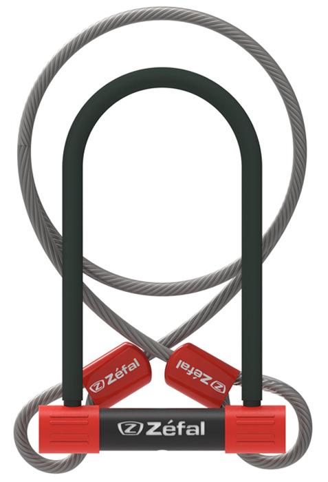 Велозамок с ключом Zefal K-Traz U13 Cable, 4944B, черный