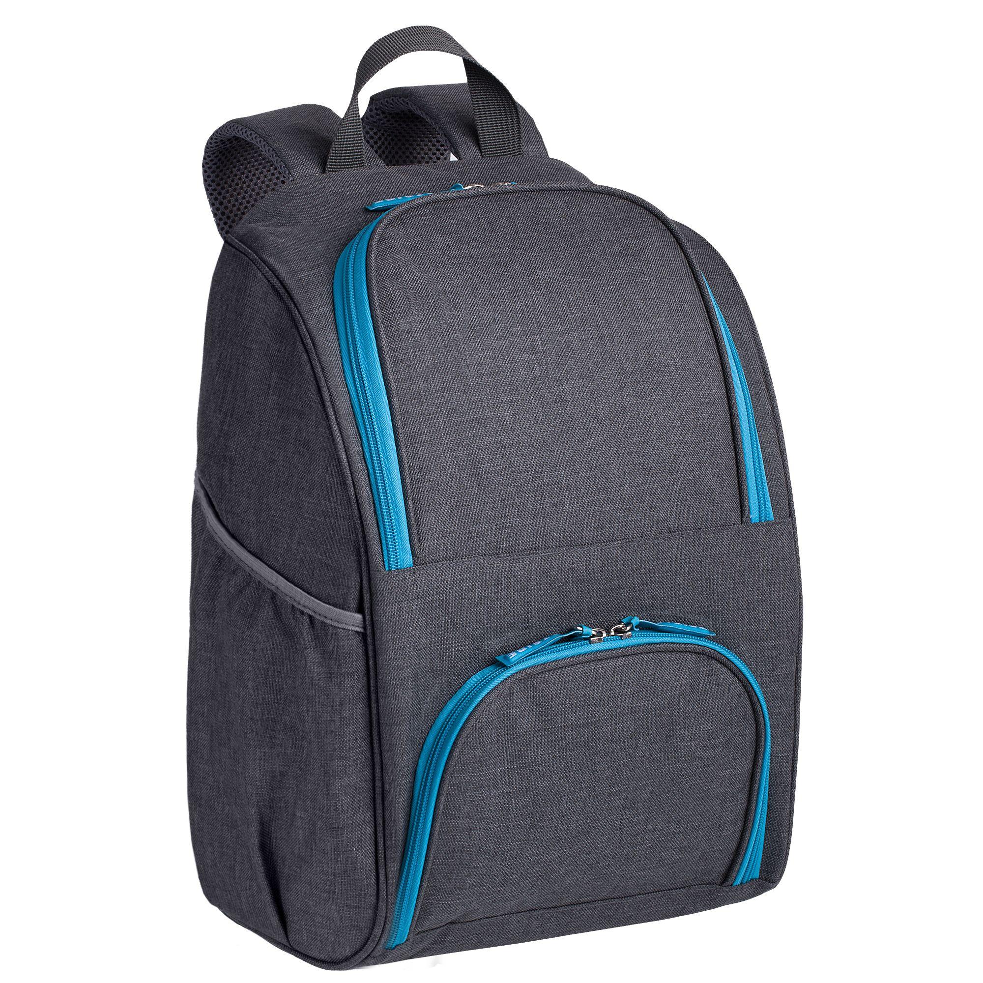 Рюкзак Stride Liten Fest, серый, синий