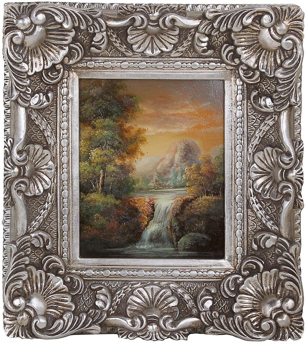 Картина Лесной водопад, 822362, 7 х 38 х 43 см