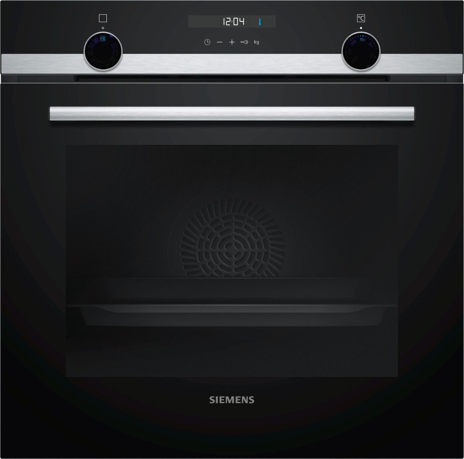 Духовой шкаф Siemens HB537GES0R, серебристый siemens iq500 kg39nai21r