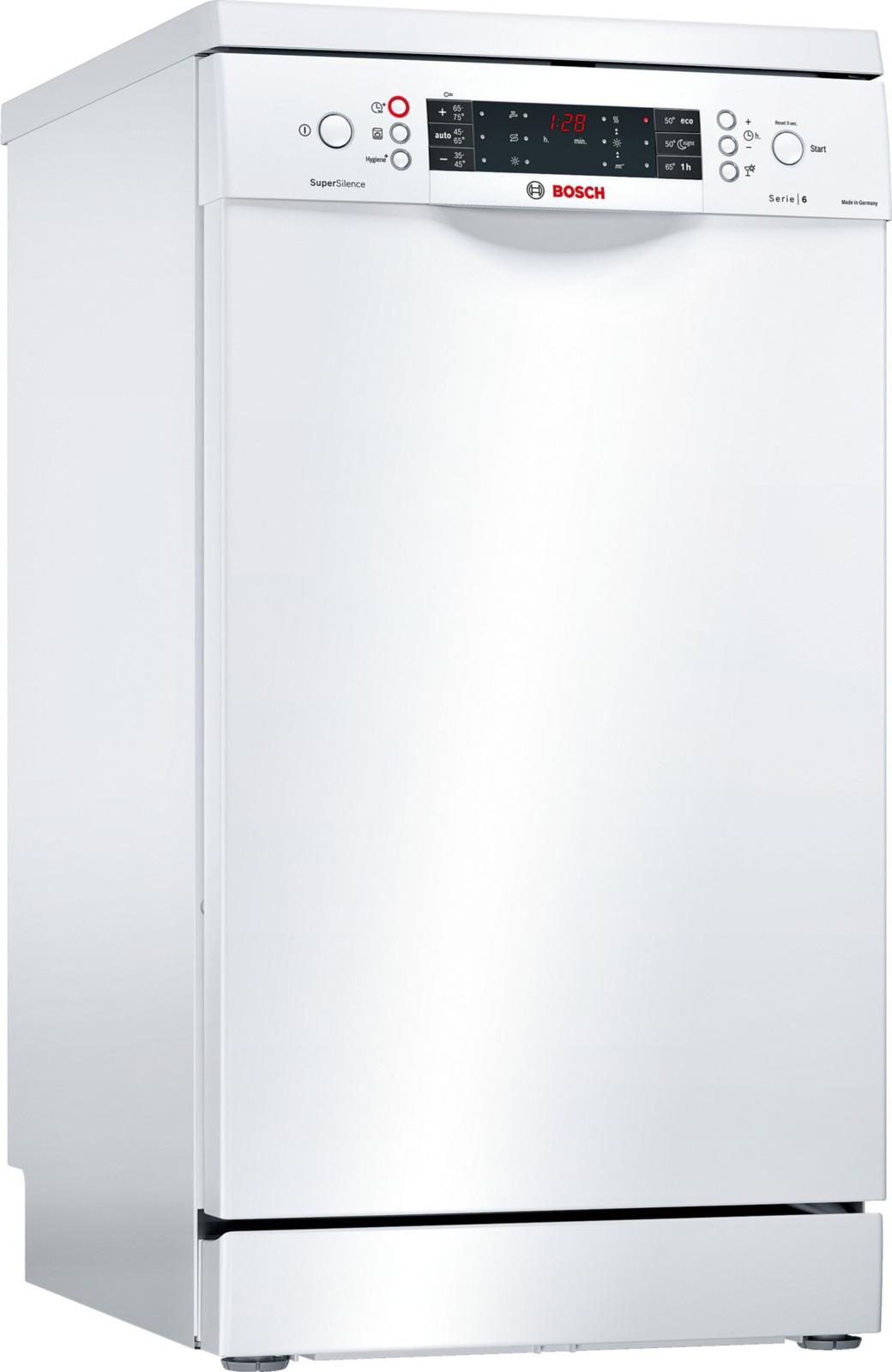 Фото - Посудомоечная машина Bosch SPS66TW11R, белый авто