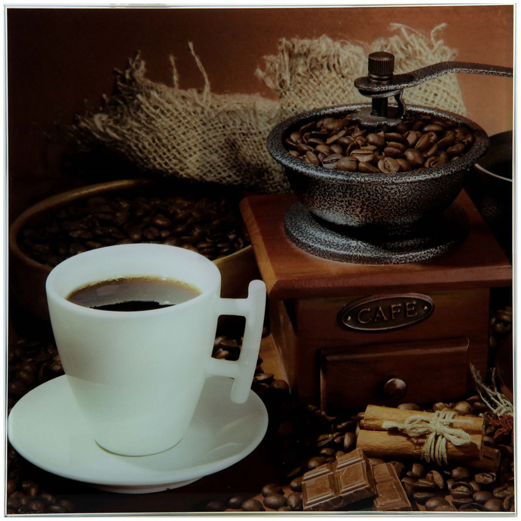 Картина Кофе, 1163494, 30 х 30 см