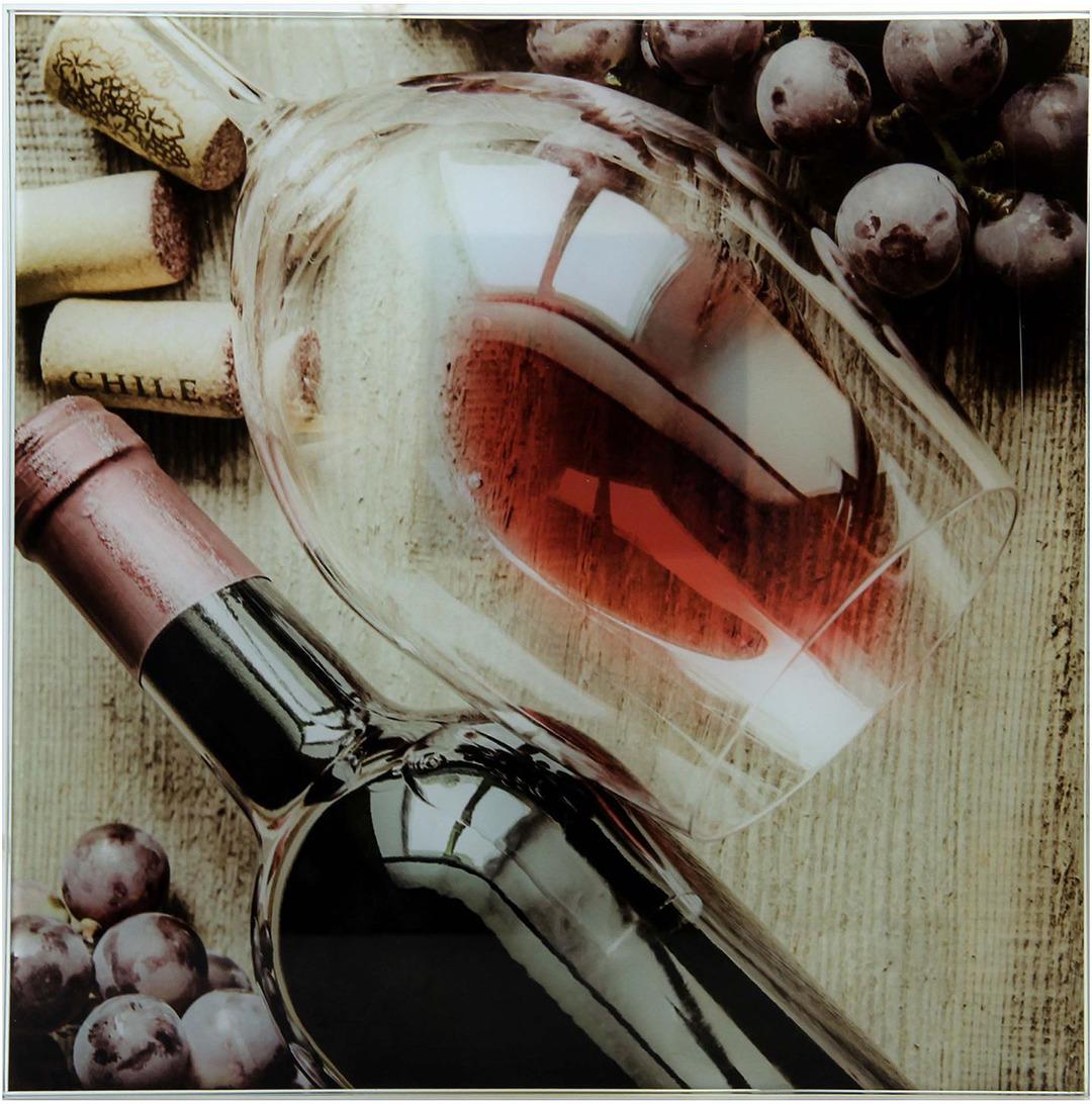 Картина Виноград, 1163497, 30 х 30 см