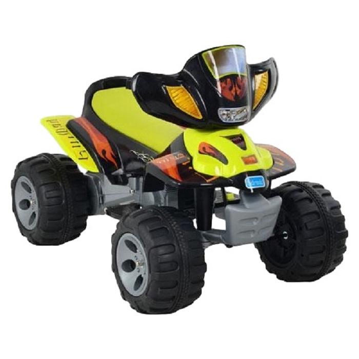 Электромотоцикл Farfello A22, желтый kidscars электромобиль квадроцикл цвет черный