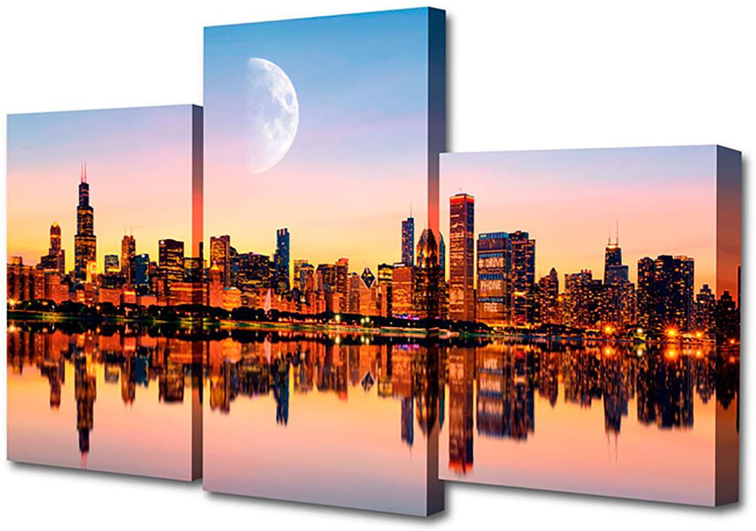 Картина Topposters Вид с набережной, модульная, 1186136, 50 х 80 см картина topposters 78x50cm xh 231