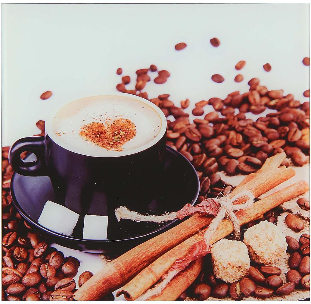 Картина Кофейные чувства, 1235552, 30 х 30 см
