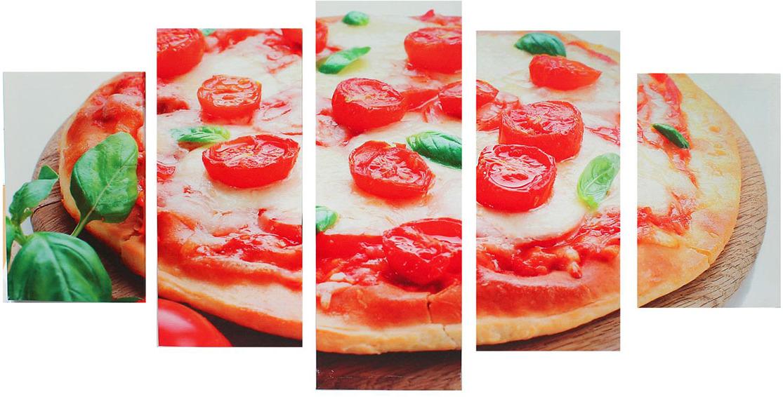 Картина Художественная мастерская Палитра Пицца, модульная, 1325218, 75 х 135 см