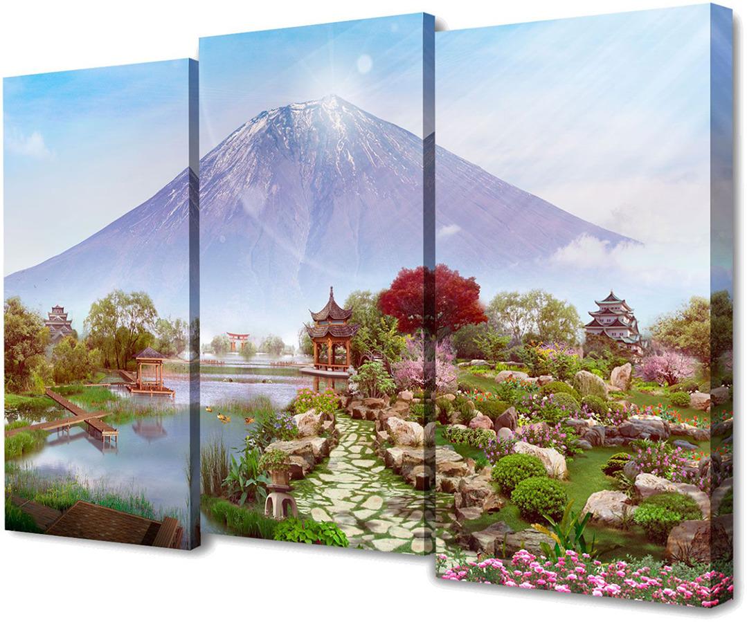 Картина Topposters Великая гора, модульная, 1577244, 150 х 100 см картина topposters 78x50cm xh 231