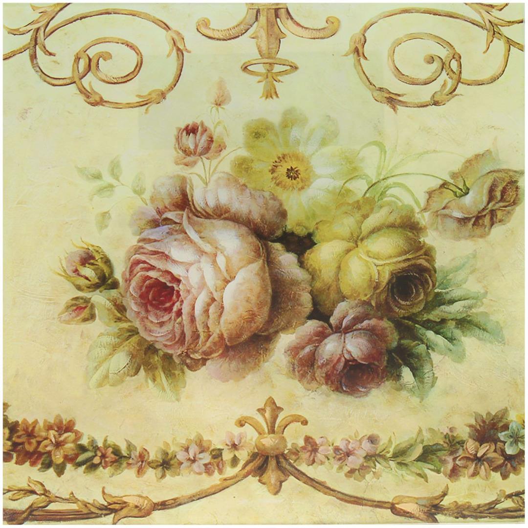 """Картина Идеал """"Цветы"""", 2474452, 28 х 28 см"""