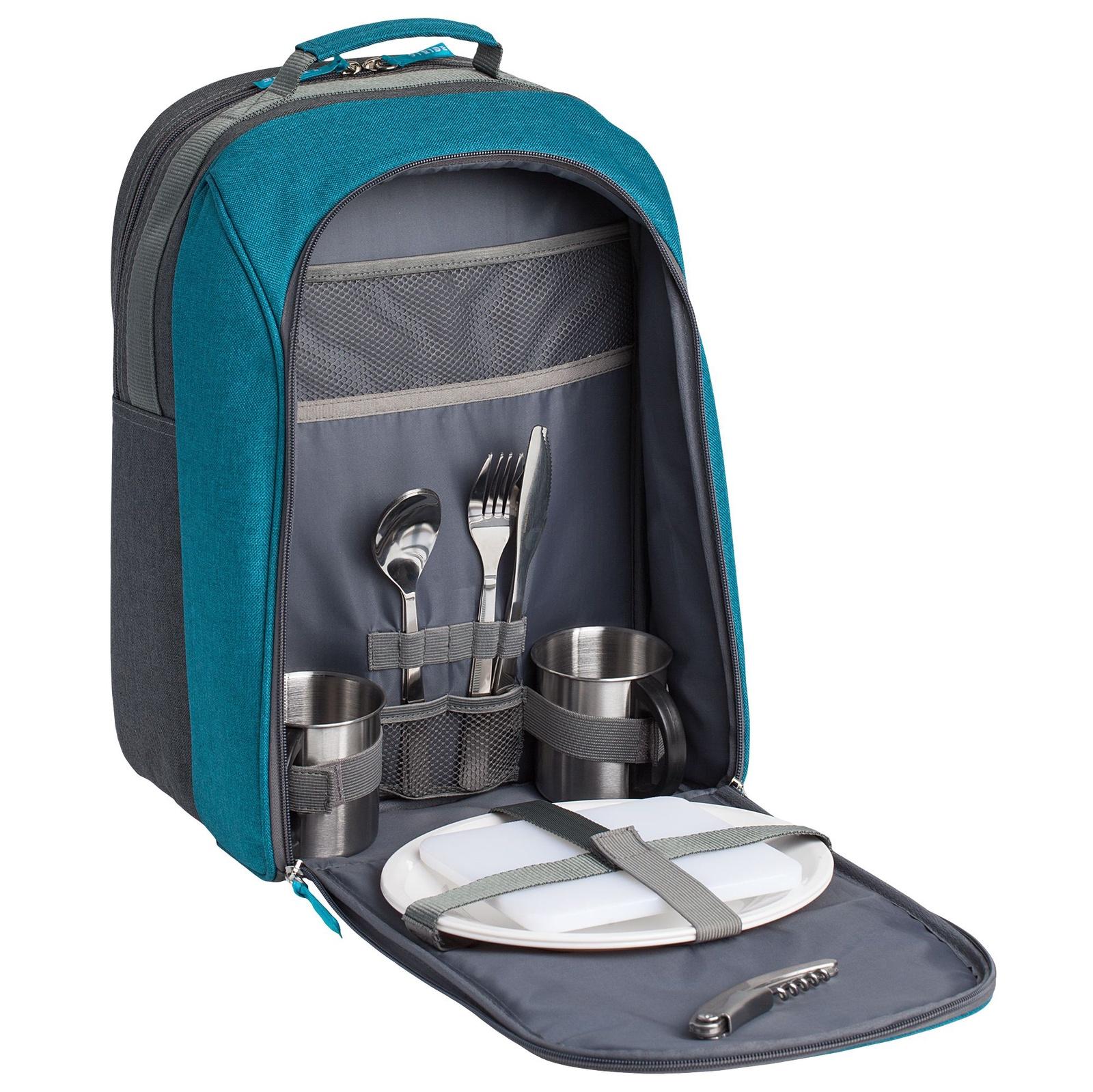 Набор для пикника Stride Lilla Fridag, серый, синий набор для пикника пикник 4
