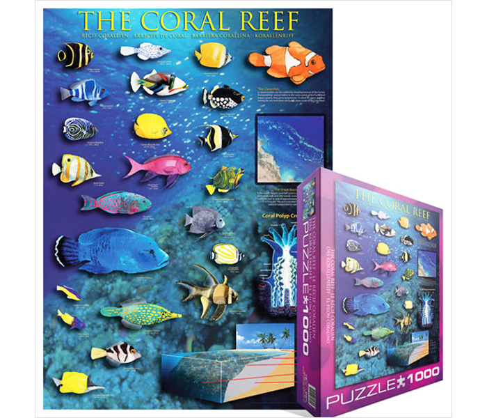 Пазл Eurographics Coral Reef